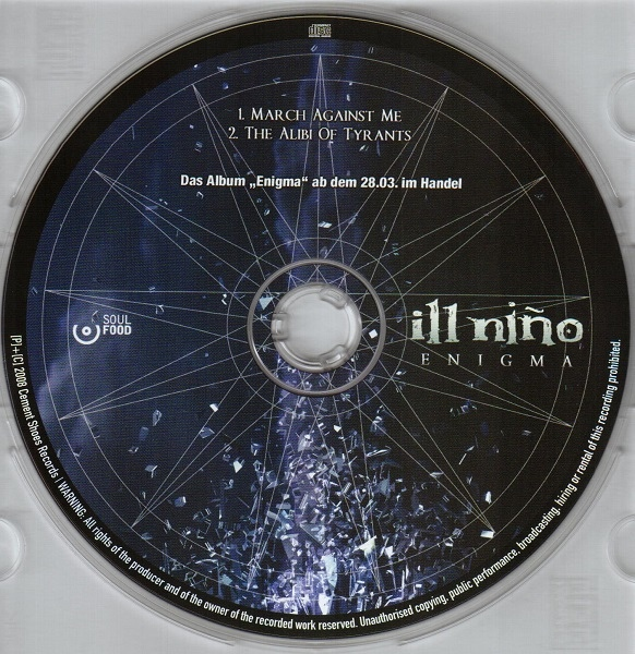 Download torrent Ill Nino - March Against Me / The Alibi Of Tyrants (2008)