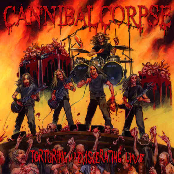 Download torrent Cannibal Corpse - Torturing and Eviscerating Live (2013)