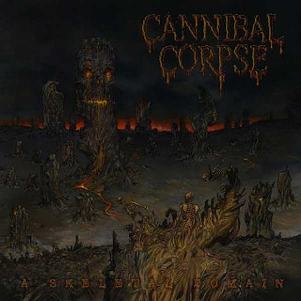 Download torrent Cannibal Corpse - A Skeletal Domain (2014)