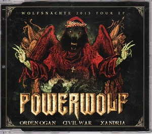 Download torrent Xandria / Orden Ogan / Powerwolf / Civil War - Wolfsnächte 2015 Tour EP (2015)