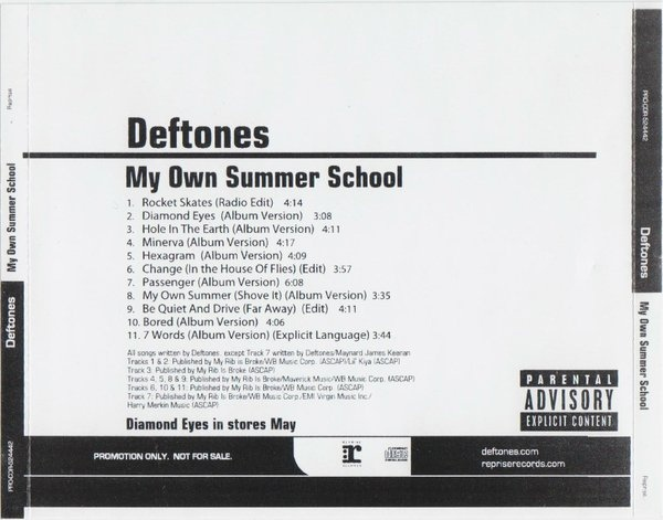 Download torrent Deftones – My Own Summer School (2010)