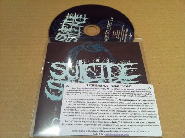 Download torrent Suicide Silence – Cease To Exist (2014)