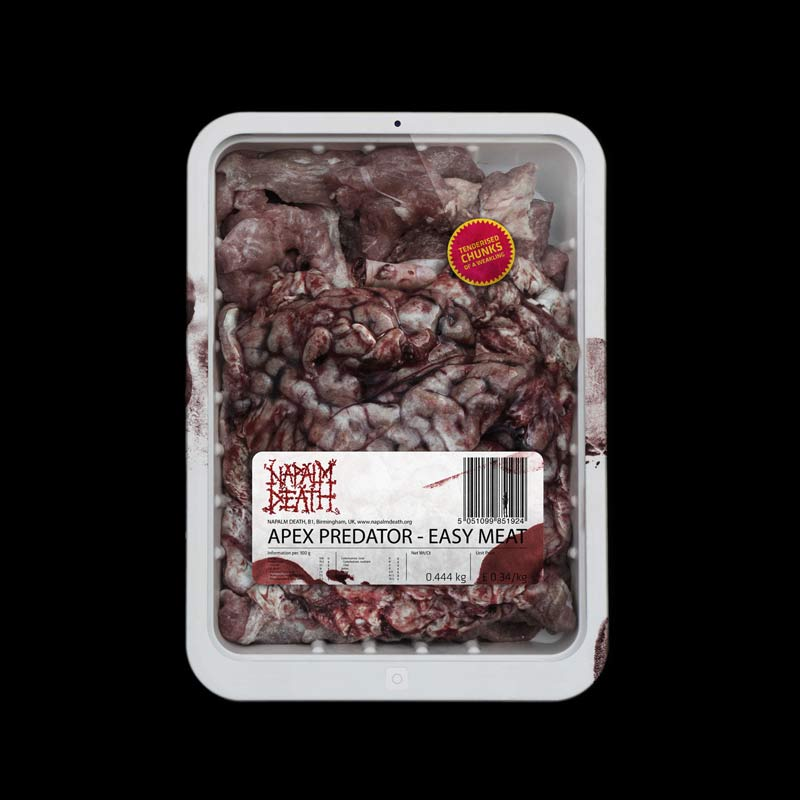 Download torrent Napalm Death - Apex Predator - Easy Meat (2015)