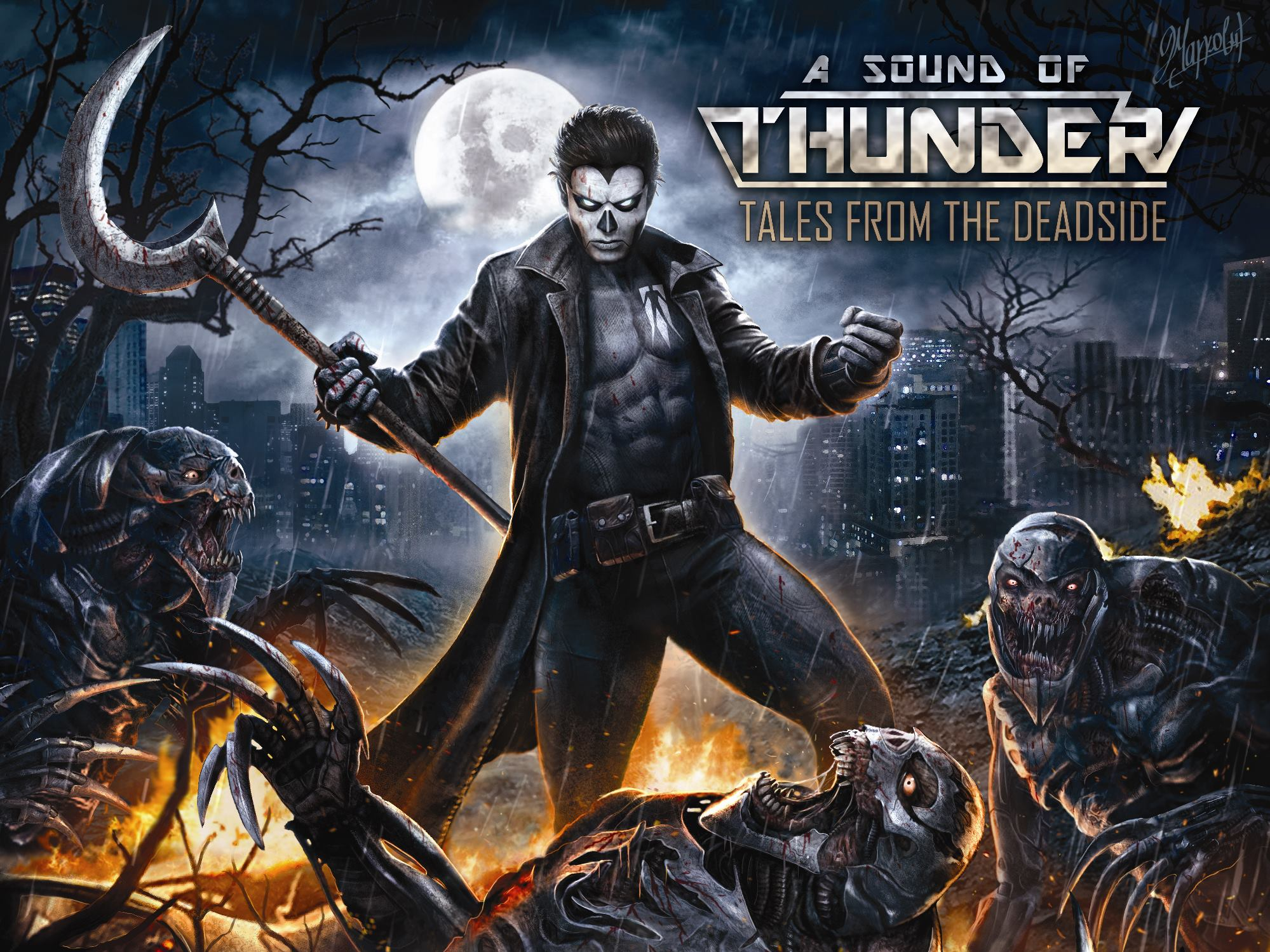 Download torrent A Sound Of Thunder - Tales From The Deadside (2015)