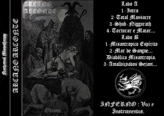 Download torrent Arcano Arconte - Odium... (1999)