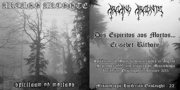 Download torrent Arcano Arconte - Spirituum ad Mortuos (2015)