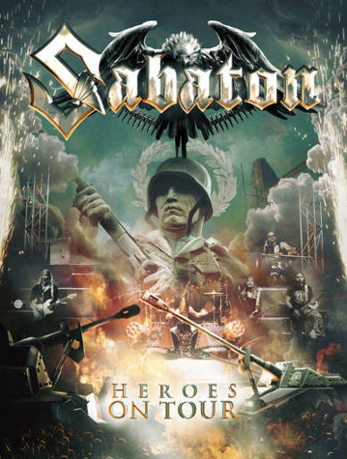 Download torrent Sabaton - Heroes on Tour (2016)