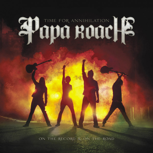 Download torrent Papa Roach ‎– Time For Annihilation...On The Record And On The Road (2010)