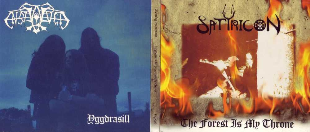 Download torrent Enslaved / Satyricon - The Forest Is My Throne / Yggdrasill (1995)