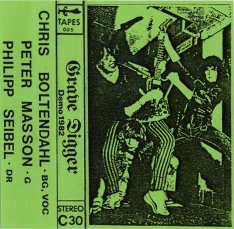 Download torrent Grave Digger - Demo 1982 (1982)