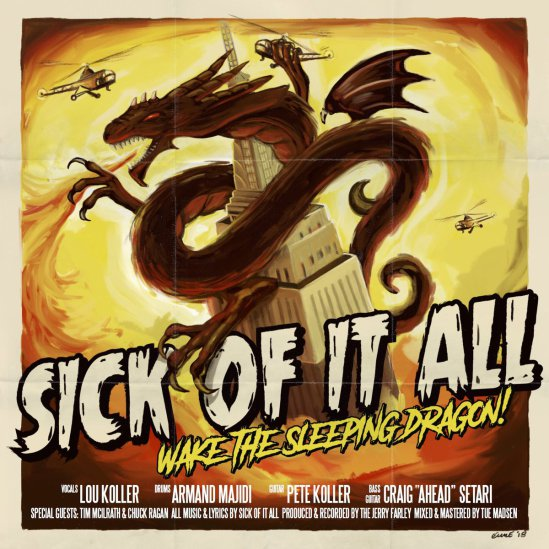 Download torrent Sick Of It All - Wake The Sleeping Dragon! (2018)